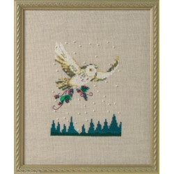 Mirabilia Nora Corbett, grille Winter Owl Holiday in the Forest (NC275)