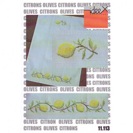 Schwörer, grilles Citrons et ollives (JPS11.113)