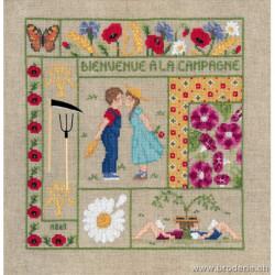Bonheur des Dames, kit bienvenue août (BD2657)