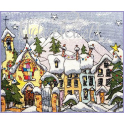 MichaelPowell, grille Christmas Village (MPCP125)