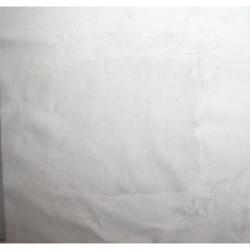Graziano, tissu de noël damassé blanc cassé lamé de fils dorés (TA8279)