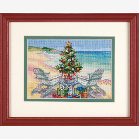Dimensions Gold, kit Christmas on the Beach (DIM08832)