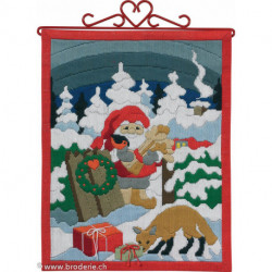 Permin, Kit facile - Père-Noël (PE70-4612)