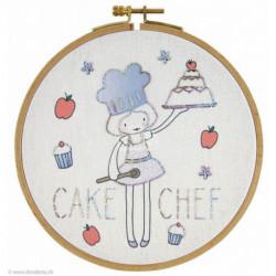 DMC, kit imprimé Cake chef (DMC-TB081K)