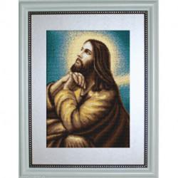 Luca-S, kit canevas petits points Jesus's Prayer (LUCAG306)