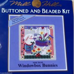 """Mill Hill, kit """"Windowbox Bunnies"""" (MHCB195)"""