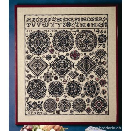 Permin, ABC antique sampler 1826 (PE39-4410)