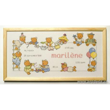 "Permin, kit ""Marilène"" (PE12-8451)"