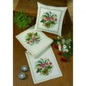 Permin, kit chemin de table Fleurs et muguets (PE68-0342)
