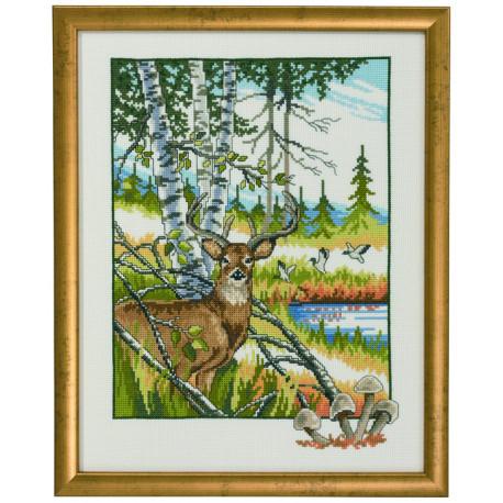 Permin, kit Daim dans la forêt (PE92-9315)