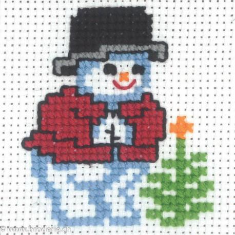 Permin, kit enfant Bonhomme de neige (PE14-0202)