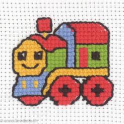 Permin, kit enfant locomotive (PE14-3331)