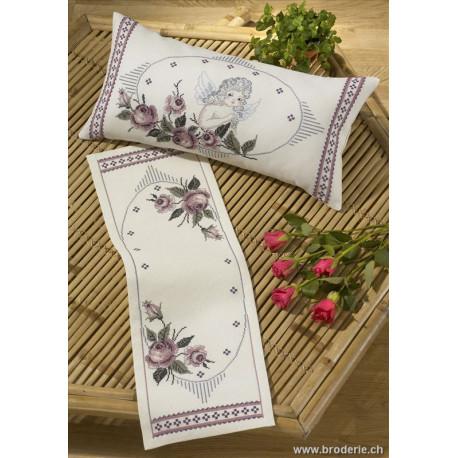 Permin, kit facile roses et ange (PE83-0914)