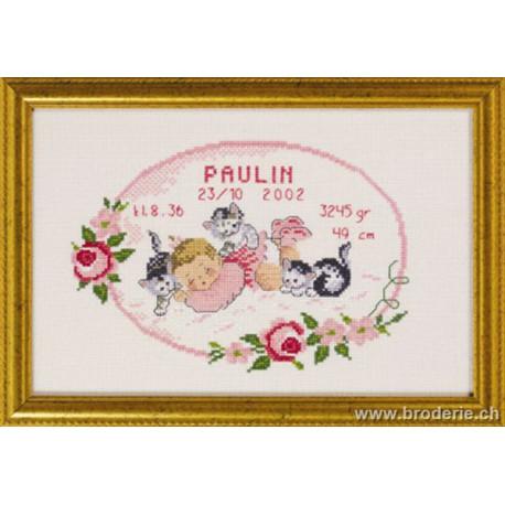 Permin, kit naissance fille (PE12-3603)
