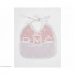 DMC, bavoir 3 mois lapins, bleu (DMC-RS2652CR)