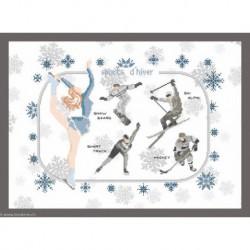Princesse, kit Sports d'hiver (PR7401B)