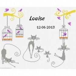 Princesse, kit naissance Louïse (PR7520)