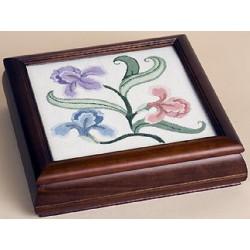 Sudberry, boîte 'Carols Fancywork', bois teint (SU99021)