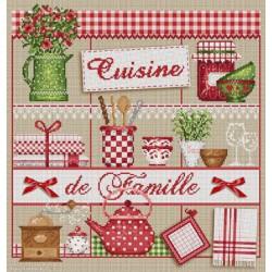 Madame la Fée, grille Cuisine de famille (FEE048)
