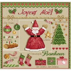Madame la Fée, grille Joyeux Noël (FEE058)