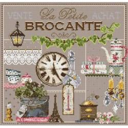 Madame la Fée, grille La petite Brocante (FEE099)
