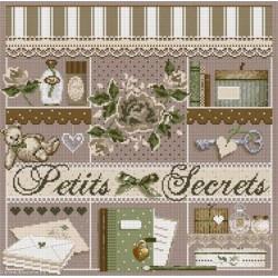 Madame la Fée, grille Petits Secrets (FEE074)