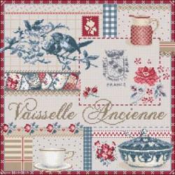 Madame la Fée, grille Vaisselle Ancienne (FEE089)