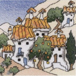 MichaelPowell, grille Mini spanish Cottages (MPCP38)