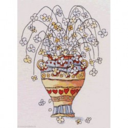 MichaelPowell, grille Pot of Flowers (MPCP55)
