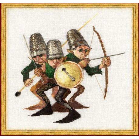 Nimuë, kit La Guerre des Boutons (NIM003K)