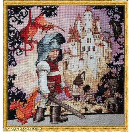 Nimuë, modèle Le petit chevalier (NIM120G)