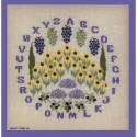 Points Com, grille ABC lavande (PCO2022)