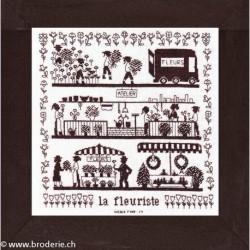 Points Com, grille La fleuriste (PCO2099)
