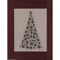 Points Com, grille Le sapin de Noël (PCO5041)
