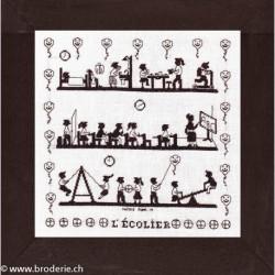 Points Com, grille L'écolier (PCO2054)