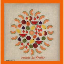 Points Com, grille Salade de fruits (PCO2015)