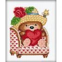 RTO, petit kit ourson et coeur sur fauteuil (RTOC024)