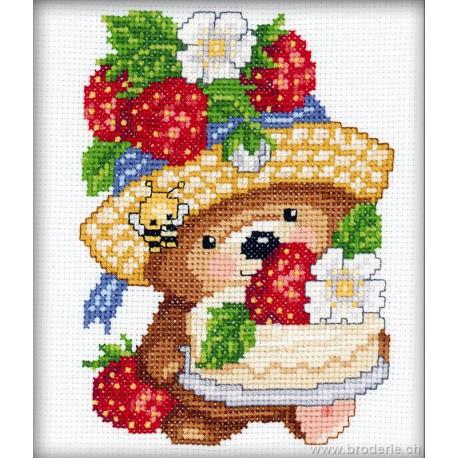 RTO, petit kit oursonne et fraises (RTOC025)