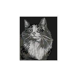 Marie Coeur, kit Chat angora (MC1972-4710)