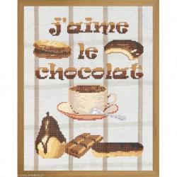Marie Coeur, kit J'aime le chocolat (MC1703-4853B)
