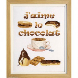 Marie Coeur, kit J'aime le chocolat (MC1972-4853A)