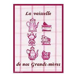 Marie Coeur, kit la vaisselle de nos grands-mères (MC1703-4706)