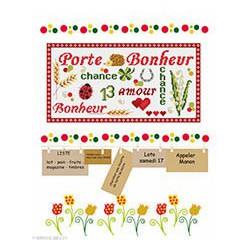 Marie Coeur, kit Mémo porte-bonheur (MC1120-4678)