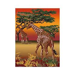 Marie Coeur, kit Savane girafes (MC1709-4722)