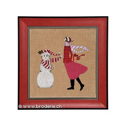Mirabilia Nora Corbett, grille Red Winter Gift - Red Ladies Collection (NC174)