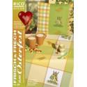Rico, catalogue de points de croix comptés printemps (RICO084)